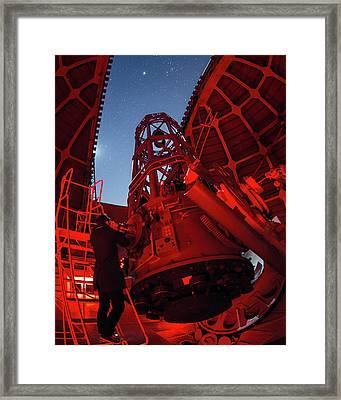 Mount Wilson Observatory Framed Print by Babak Tafreshi