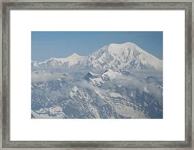 Mt Mckinley Framed Print by Dick Willis