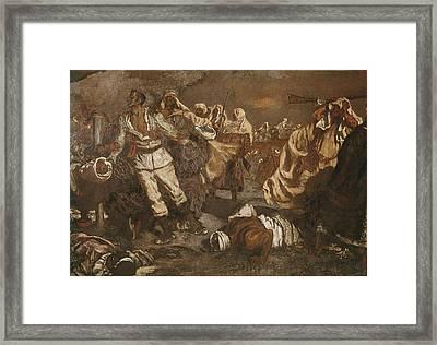 Mu�oz I Degrain, Antoni 1841-1924 Framed Print