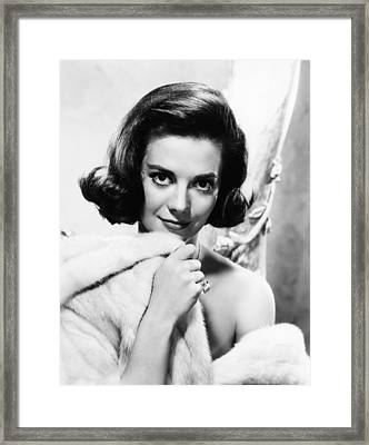 Natalie Wood, Warner Bros. Portrait Framed Print by Everett
