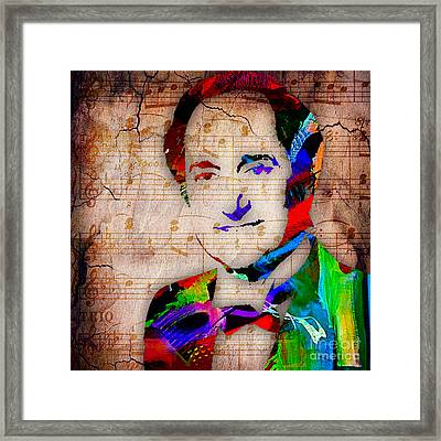 Neil Sedaka Collection Framed Print