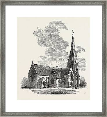 New Church Of St Framed Print by English School