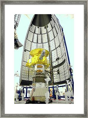 New Horizon's Spacecraft Framed Print