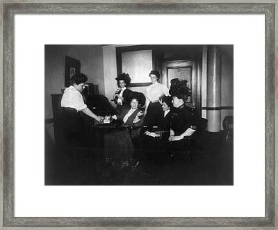 New York Suffragettes Framed Print by Granger