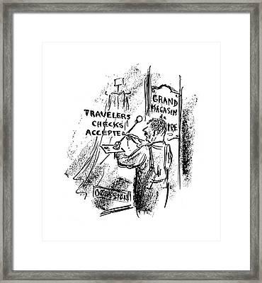 New Yorker October 28th, 1944 Framed Print