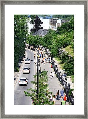 Niagara Falls Canada Framed Print