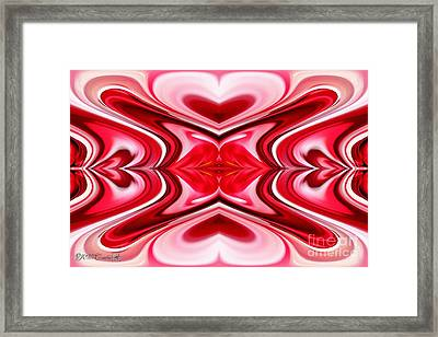 Noel Abstract Framed Print by J McCombie