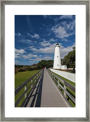 North Carolina, Cape Hatteras National Framed Print by Walter Bibikow