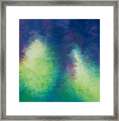 Northern Lights Framed Print by Kimberly Davison