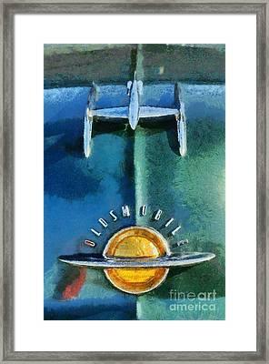 1951 Oldsmobile 98 Deluxe Holiday Sedan Framed Print