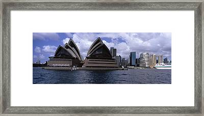Opera House At The Waterfront, Sydney Framed Print