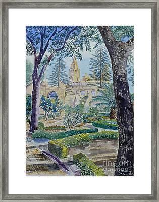 Palazzo Parisio Naxxar Malta Framed Print
