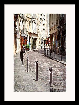 Historic Street Framed Prints