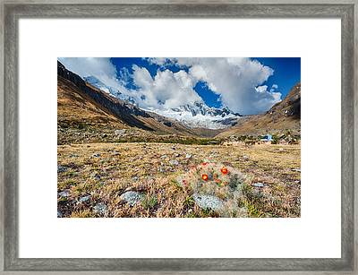 Paso Punta Union  Framed Print by Ulrich Schade