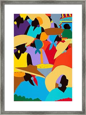 Petion-ville Market I Framed Print