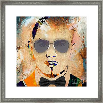 Pitbull Collection Framed Print by Marvin Blaine