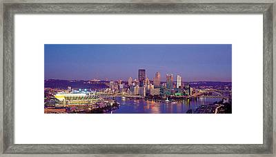 Pittsburgh, Pennsylvania, Usa Framed Print by Panoramic Images
