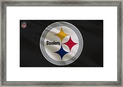 Pittsburgh Steelers Uniform Framed Print
