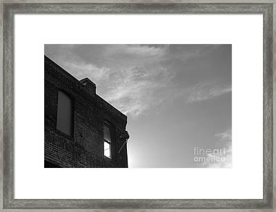 4 Pm Framed Print