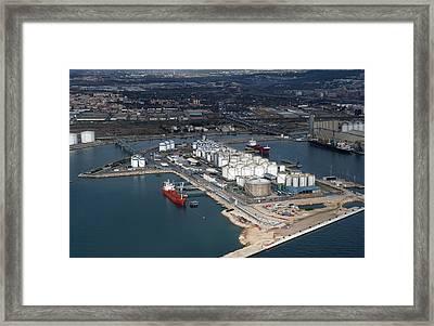 Port Of Tarragona, Catalonia Framed Print by Jordi Todó Vila