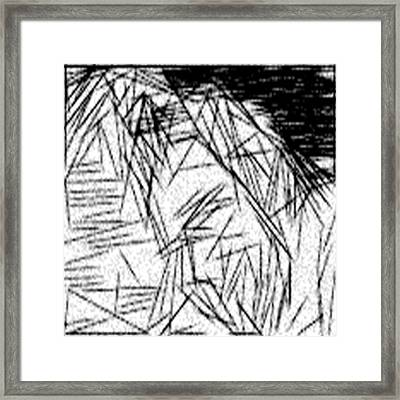 Postmodern Abstraction Framed Print