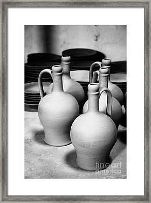 Pottery Framed Print by Gaspar Avila