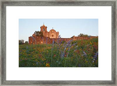 Framed Print featuring the photograph Presidio La Bahia 2 by Susan Rovira