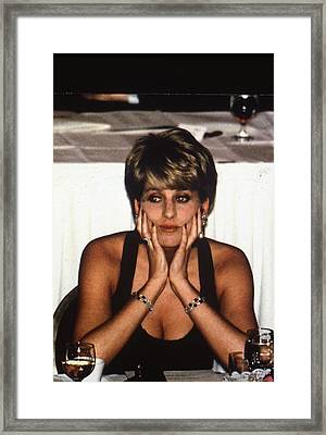 Princess Diana Framed Print by Retro Images Archive