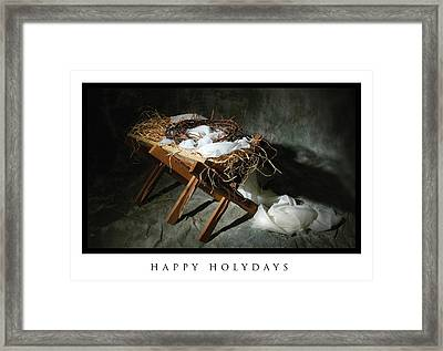 Very Holydays Framed Print