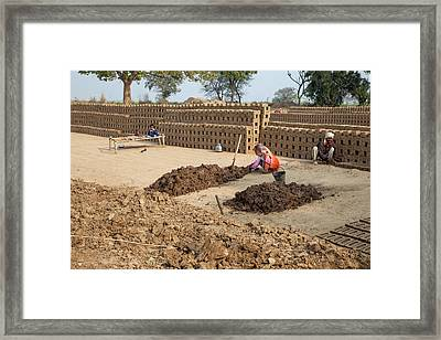 Rajasthan, India Framed Print by Charles O. Cecil