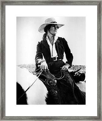 Raquel Welch Framed Print
