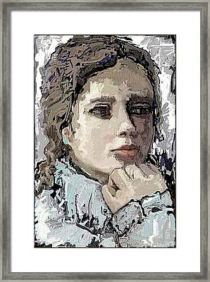 Reflection Framed Print by Pemaro