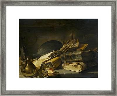 Rembrandt Books Still Life Framed Print