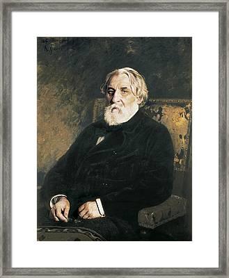 Repin, Ilya Yefimovich 1844-1930 Framed Print