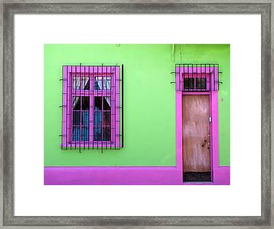 #4 Framed Print