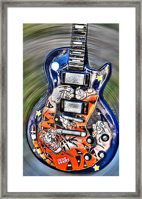 Rock N Roll Collection Framed Print