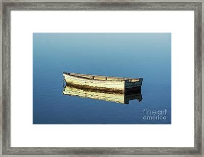 Rowboat Framed Print by John Greim