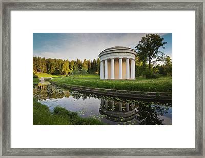 Russia, Saint Petersburg, Pavlovsk Framed Print