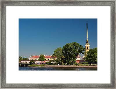 Russia, Saint Petersburg, Petrograd Framed Print by Walter Bibikow