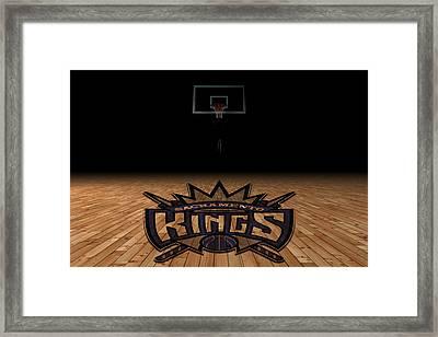 Sacramento Kings Framed Print