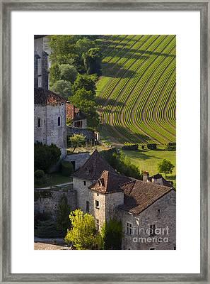 Saint Cirq Lapopie Framed Print
