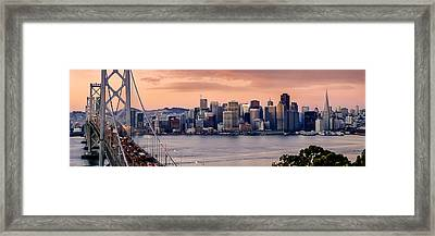 San Francisco Framed Print by Radek Hofman