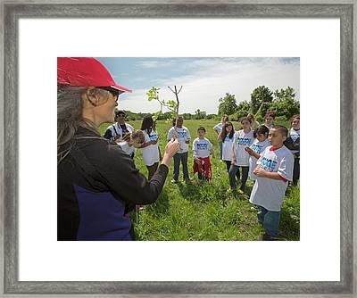 School Field Trip Framed Print