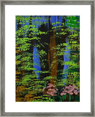 Framed Print featuring the painting 4 Seasons Spring by P Dwain Morris