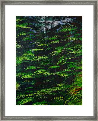 Framed Print featuring the painting 4 Seasons Summer by P Dwain Morris