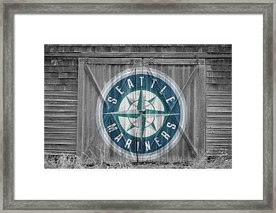 Seattle Mariners Framed Print by Joe Hamilton