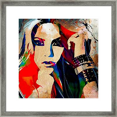 Shakira Collection Framed Print