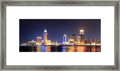 Shanghai Historic Architecture Framed Print