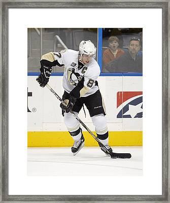 Sidney Crosby Framed Print