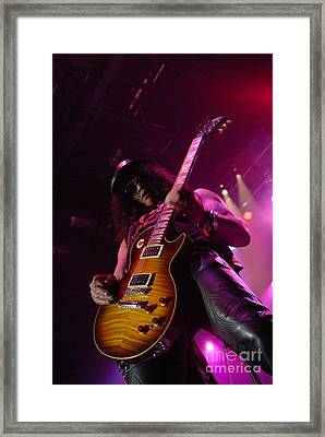 Slash Framed Print by Jenny Potter